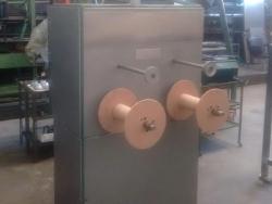 Máquina bobinador automático coaxial